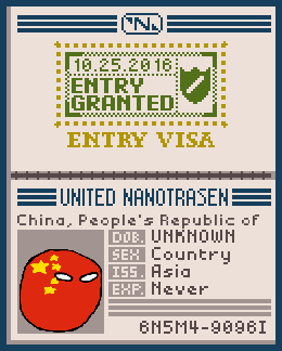 Well, China has a Passport. by DudewingTodd