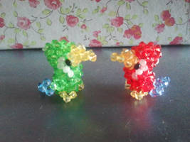 Parrots from Swarovski by Zoey-01