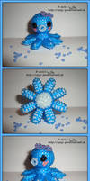 Octopus in blue by Zoey-01