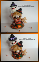 Halloween Bear with Ghost by Zoey-01