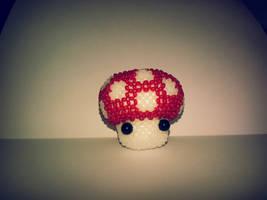 Mario mushroom by Zoey-01