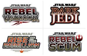 Star Wars logos by paulrandpierce
