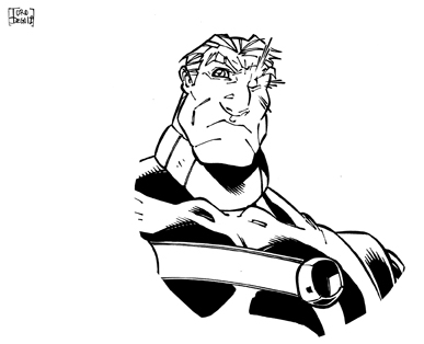 Pin Up Cable by dtoro