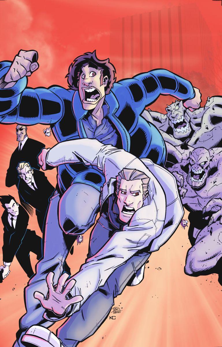 Comic book Cover by dtoro
