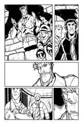 Page comic book