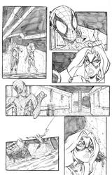 Spiderman page example