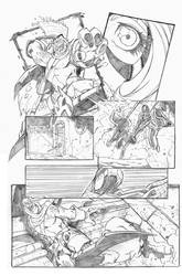 Spiderman page example 3