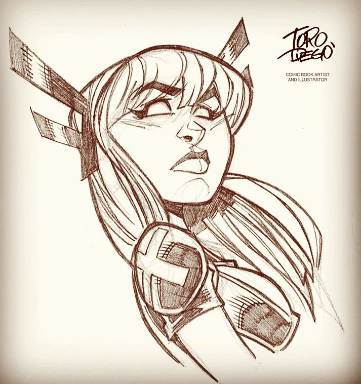 Magik Sketch by dtoro