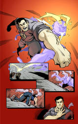 Con-troll #1 Page 8 color by dtoro