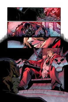 Deliverance 3 comic book project 2