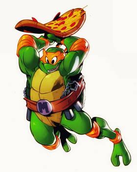 teenage mutant ninja turtles Michelangelo