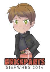 GISHWHES 2014 Team BRICKPANTS Logo by ladyriven