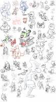 Big Time Doodling Wall