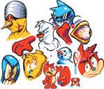 Random Pixel Art Doodles