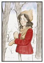 Winter girl by lapaowan