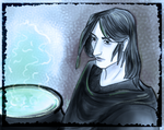 Snape by lapaowan