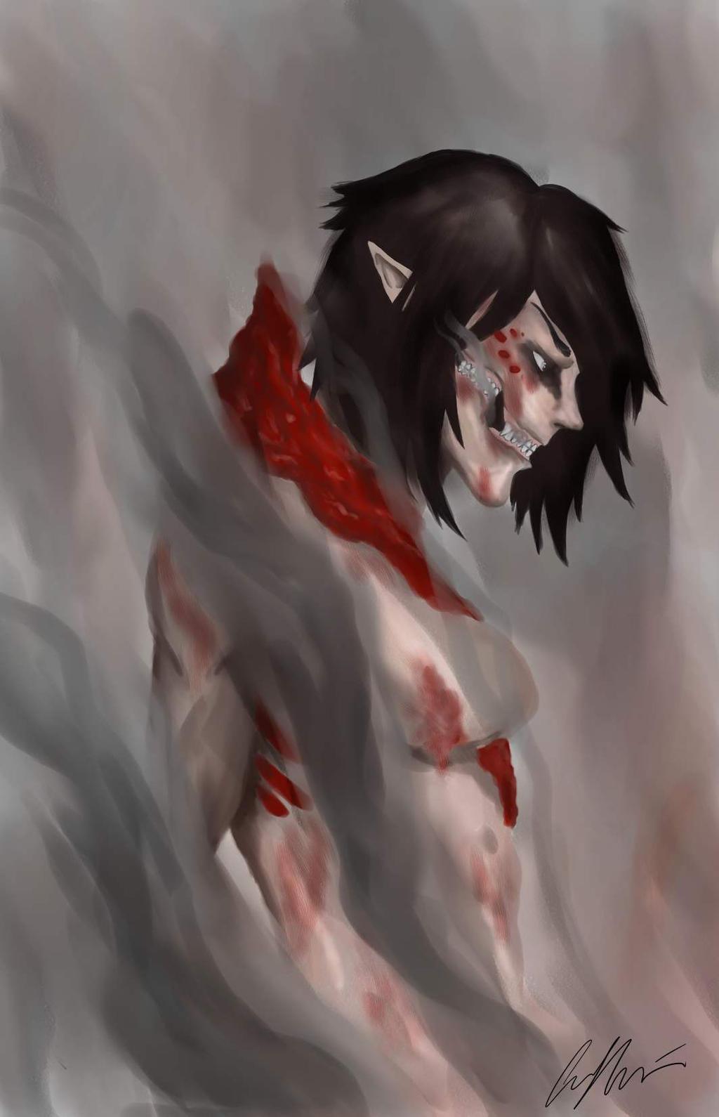 Mikasa collared titan by ceemaire on deviantart mikasa collared titan by ceemaire mikasa collared titan by ceemaire voltagebd Images