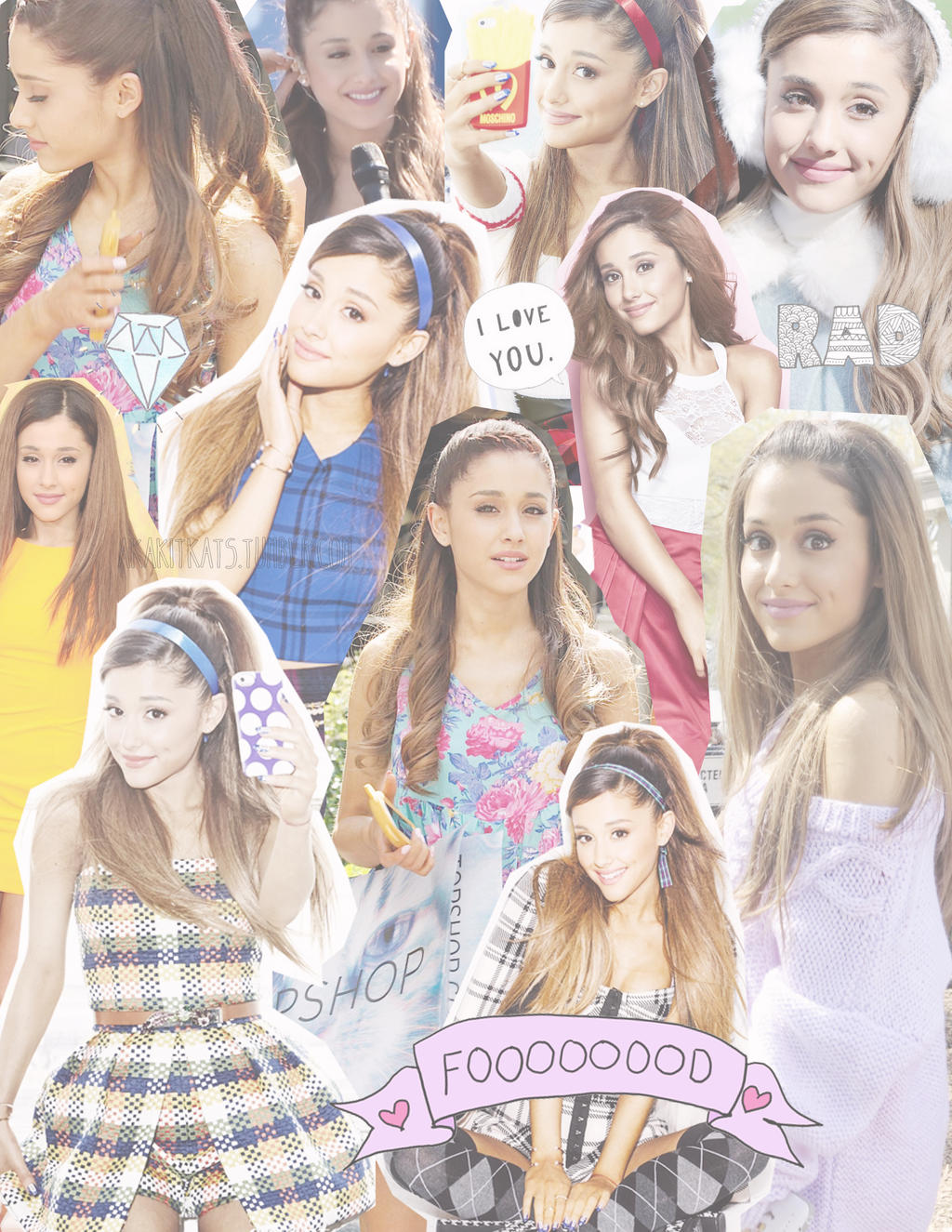 Ariana Grande Collage by LovingTheIdols on DeviantArt