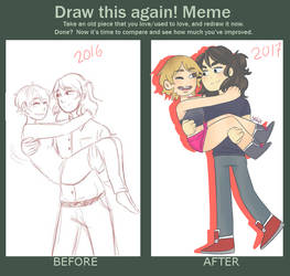 Meme  Before And After by YilaX