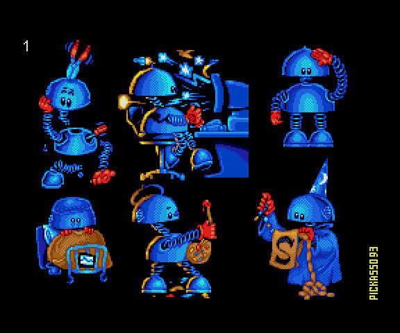 SAM Coupe Mascot poses by pickassoreborn