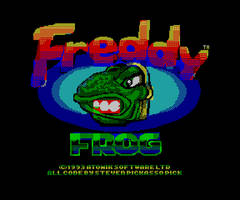 Freddy Frog Speccy Title