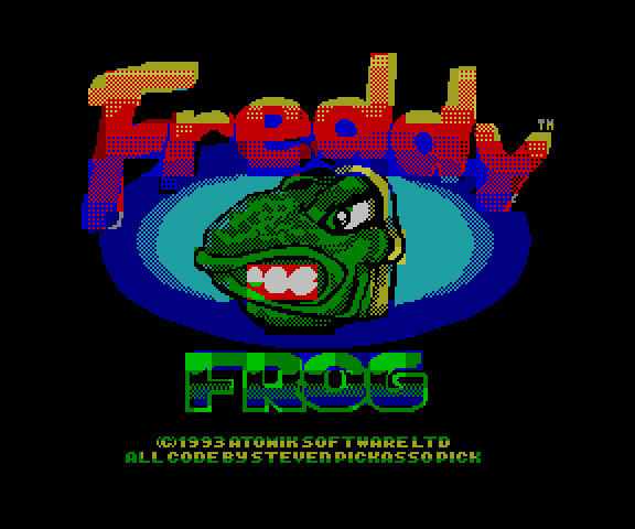 Freddy Frog Speccy Title by pickassoreborn