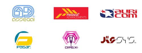 Wipeout Logos Of The Future