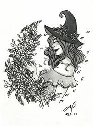Seasonal Witch: Spring (Print Version) by TheWallFlower01