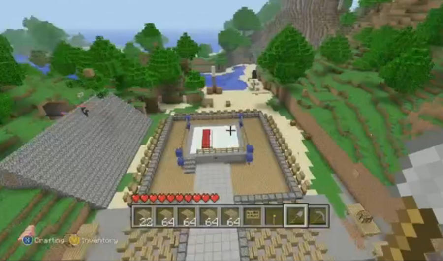 Minecraft Wrestling Arena by AlphaMoxley95