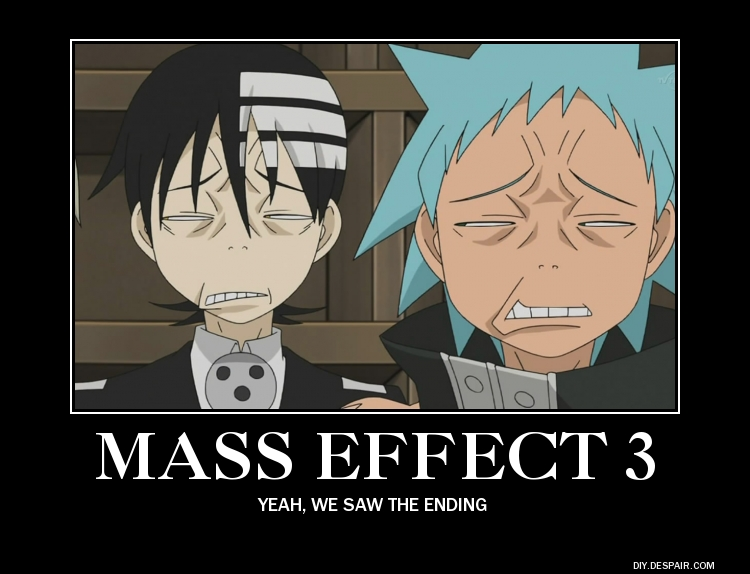Reaction to Mass Effect 3 Ending Motivational by AlphaMoxley95