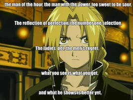 How i describe Edward Elric by AlphaMoxley95
