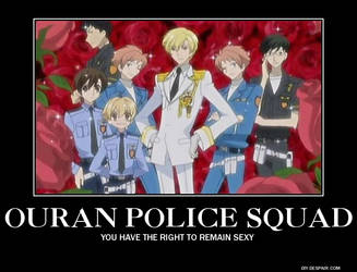Ouran Police Squad by AlphaMoxley95