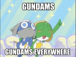 Gundams by AlphaMoxley95