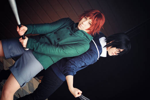 K - Misaki and Saruhiko