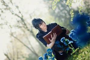 Noctis Lucis Caelum - Thinking of Lunafreya by Majin-sama