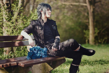 Noctis Lucis Caelum - Waiting for his beloved by Majin-sama