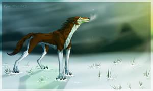 Last snowflake by D-Arlett