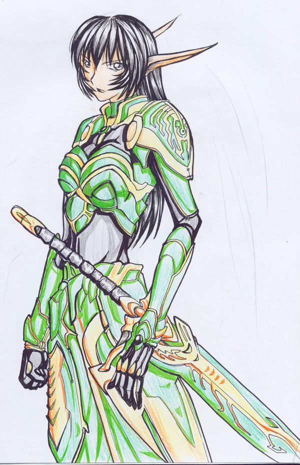 green elf by teruterubozu849