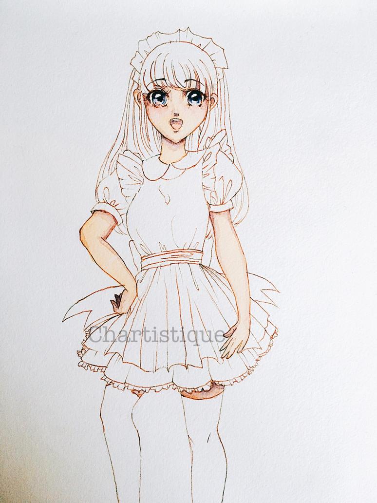 Maid in progress by lotjenya1
