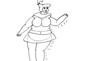 Judy Jetson, Overweight by Ubiquitous101