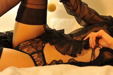 Black Lingerie 6 by Openget