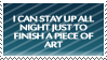 All Nighter Stamp by Elleoooo