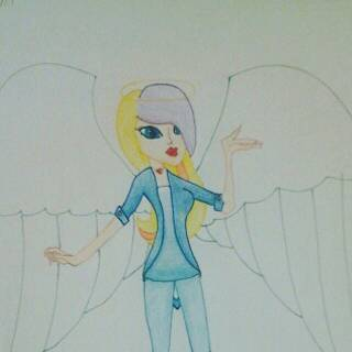 Angela by SkyBlueAngel12