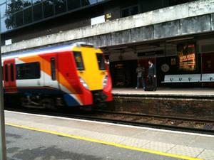 South West Trains British Rail class 458 'Juniper'