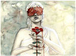 Aphrodite, Adonis and the blood red Anemone