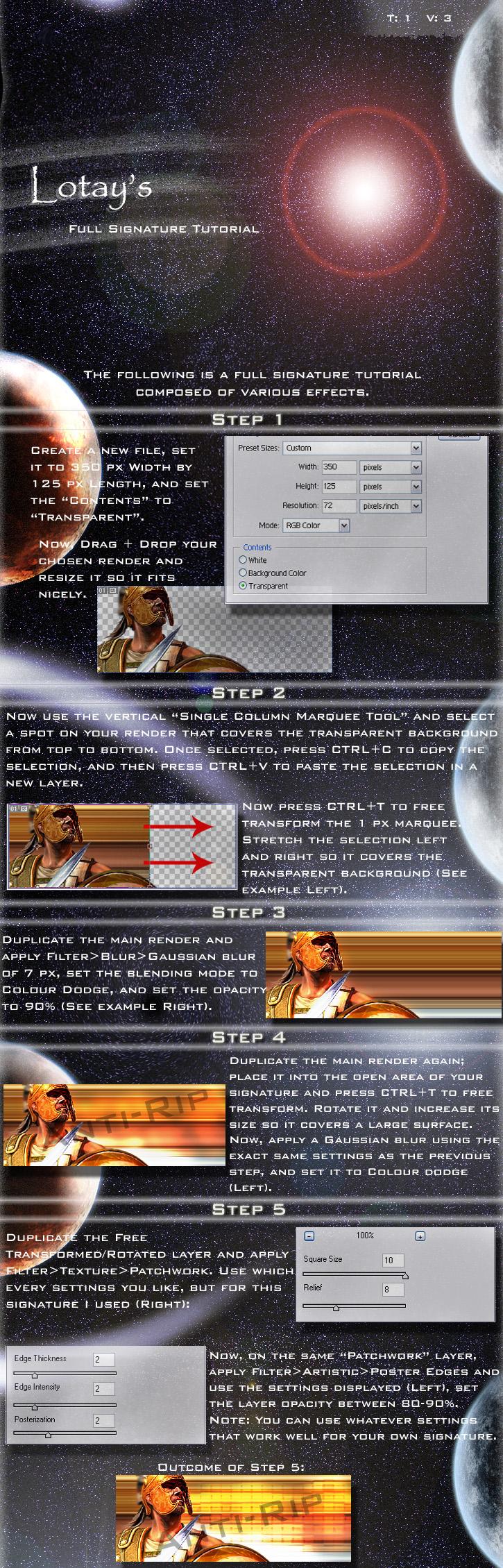 Multi-Effect Tut Part 1 by Lotay