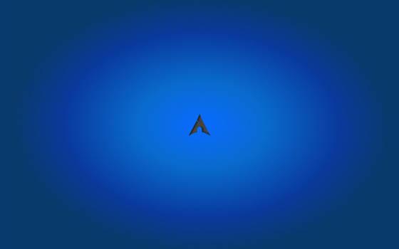 Deep blue arch by Deckon