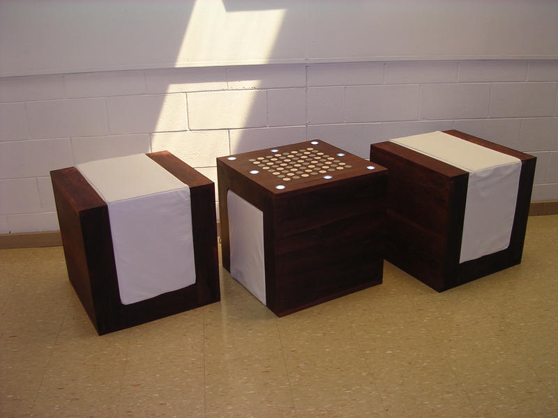 Beau Chess Table And Chairs By Ghill ...