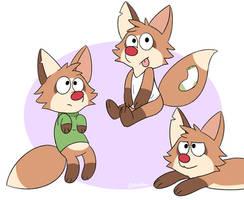 Noodle doodle foxes