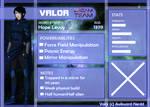 Dream Team app: Valor